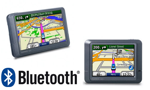 Garmin nuvi 215-215w Bluetooth